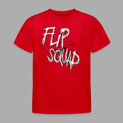 FlipSquad Vit Partiklar - T-shirt barn