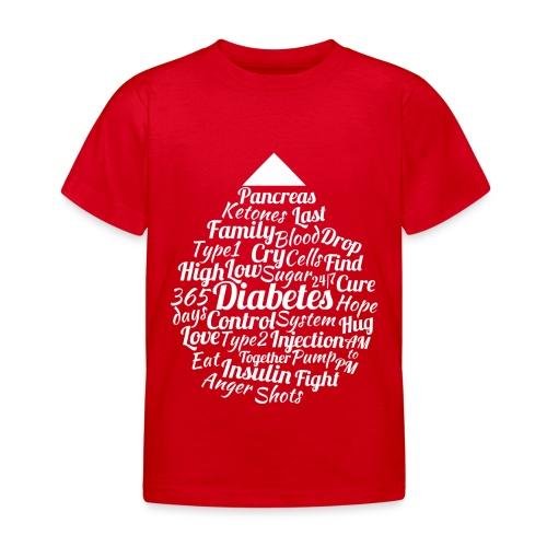 CURE DIABETES - Kids' T-Shirt