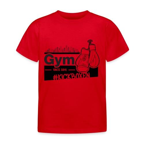 Gym in Druckfarbe schwarz - Kinder T-Shirt