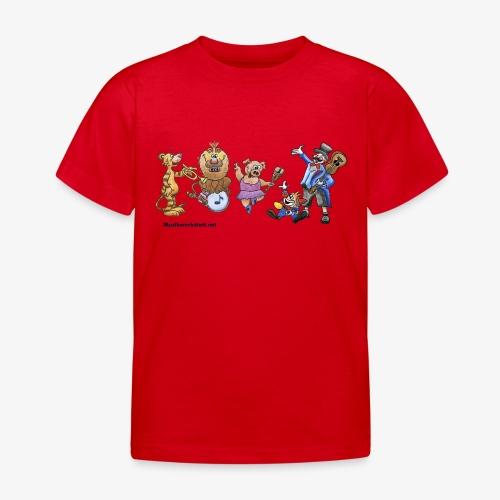 Musik-Zirkus - Kinder T-Shirt