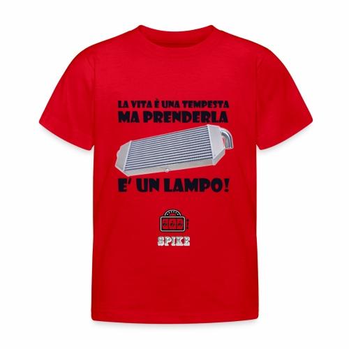 INTERCOOLER (nero) - Maglietta per bambini
