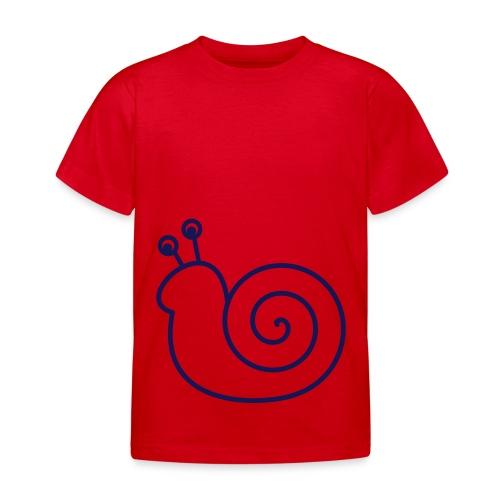Lustige Schnecke - Kinder T-Shirt