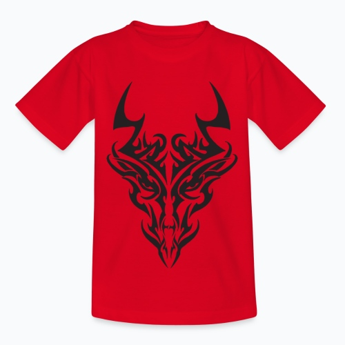 tribal dragon - T-shirt Enfant