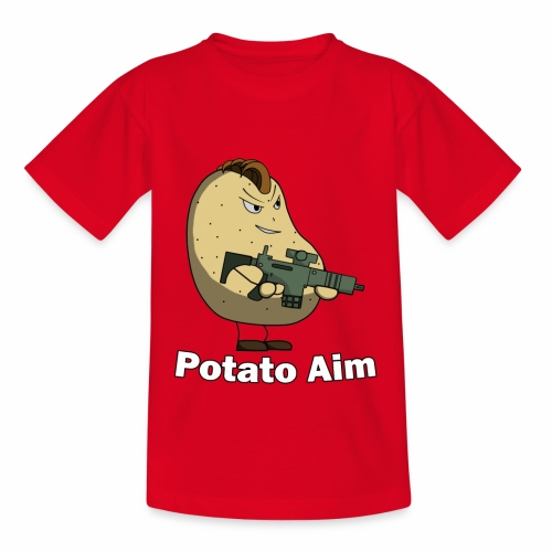 Mr Potato Aim - Kids' T-Shirt