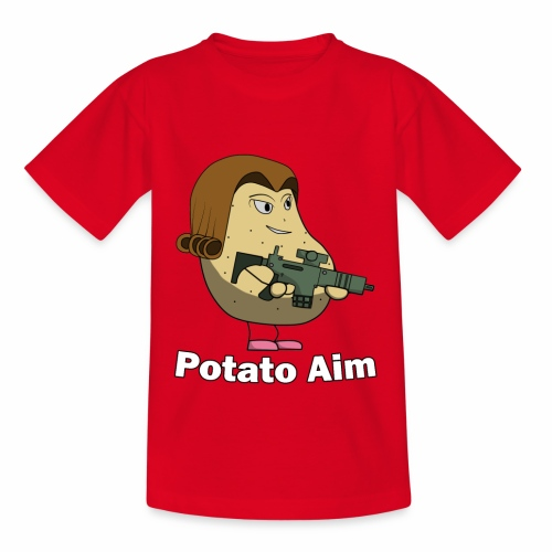 Mrs Potato Aim - Kids' T-Shirt