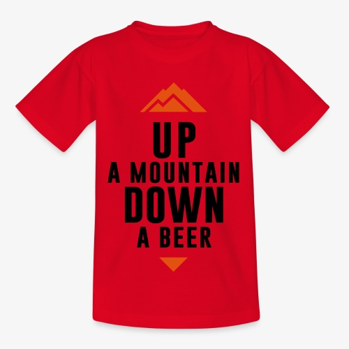 UP Mountain Down Beer - T-shirt Enfant