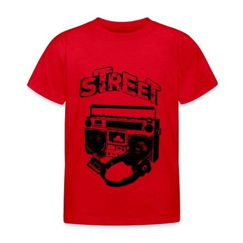 street 1 - Børne-T-shirt
