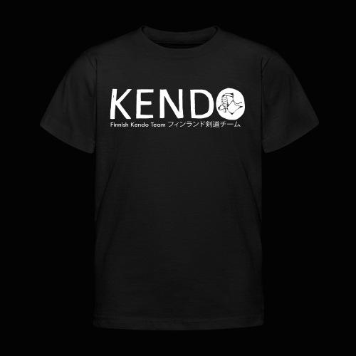 Finnish Kendo Team Text - Lasten t-paita