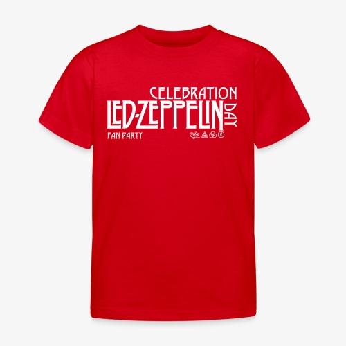 LZ Fan Celebration Day White - Maglietta per bambini