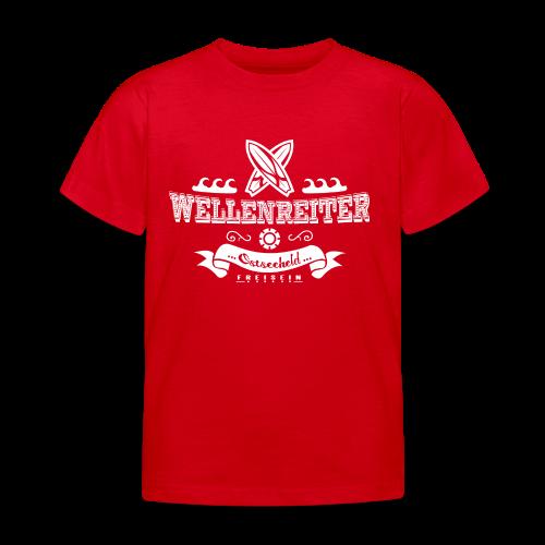Geweihbaer Wellenreiter - Kinder T-Shirt