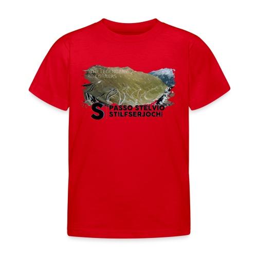 48 Haarnadelkurven - Kinder T-Shirt