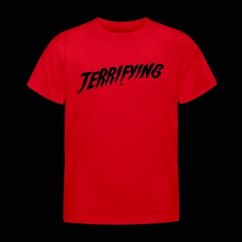Terrifying, la peur graphique ! - T-shirt Enfant