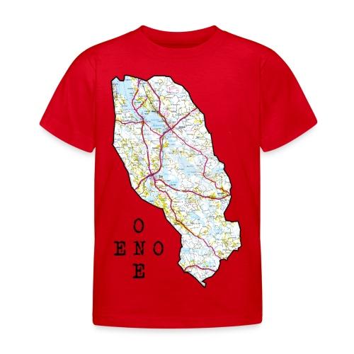 Eno/One maailmankartalle - Lasten t-paita