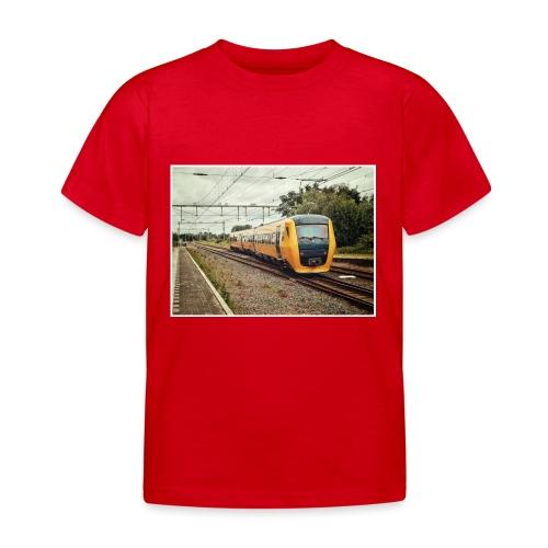 Dieseltrein in Santpoort - Kinderen T-shirt