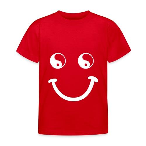 sorriso yoga hippie arte campeggio amore pace - Maglietta per bambini