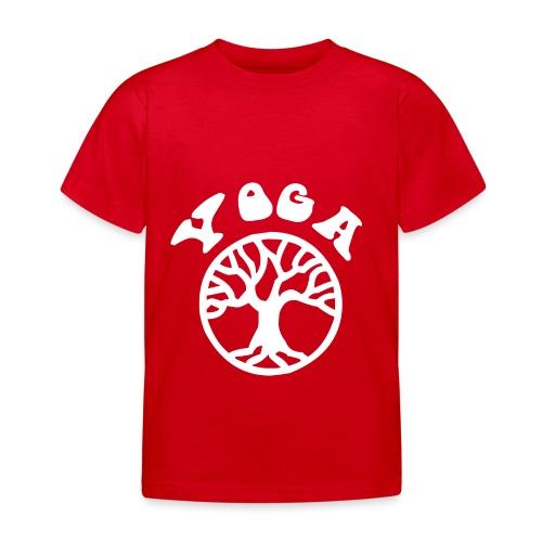 albero di yoga yogi namaste pace amore arte hippie - Maglietta per bambini