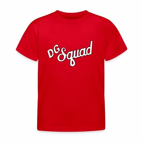 Dutchgamerz DG squad logo - Kinderen T-shirt