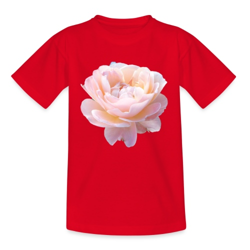 A pink flower - Kids' T-Shirt
