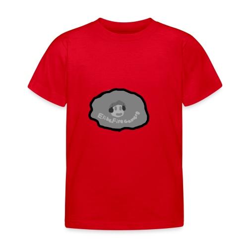 EliteFireGamer0's Rock Design - Kids' T-Shirt