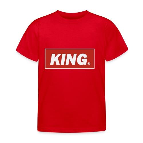 Rey reina - Camiseta niño