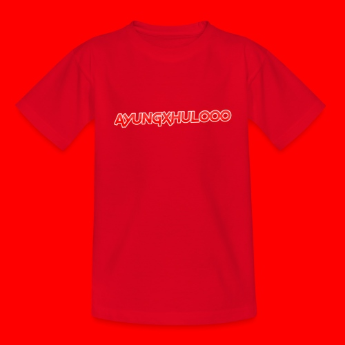 AYungXhulooo - Neon Redd - Kids' T-Shirt