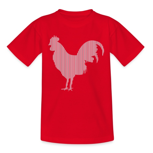 LINE BIRD 003w - Kinderen T-shirt