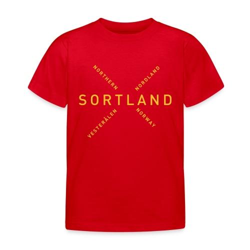 Sortland - Northern Norway - T-skjorte for barn