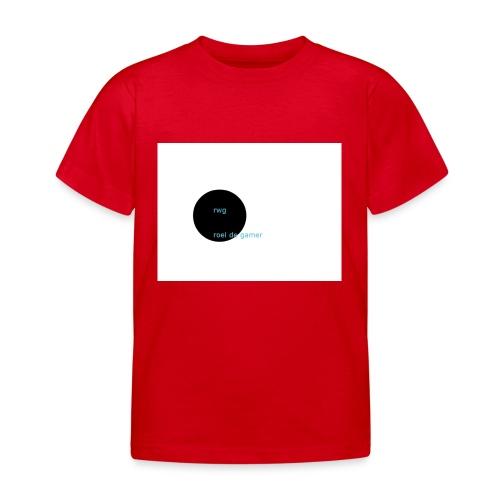roel de gamer - Kinderen T-shirt