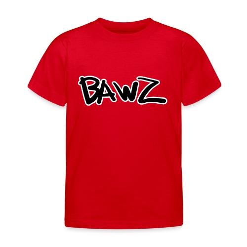 bawz tekst - Kinderen T-shirt