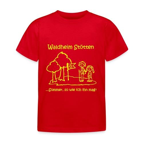 Waldheim Stötten Sommer so wie ich ihn mag - Kinder T-Shirt