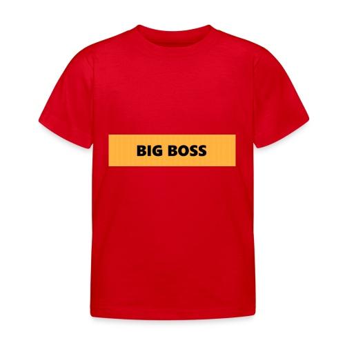BIG BOSS - Lasten t-paita