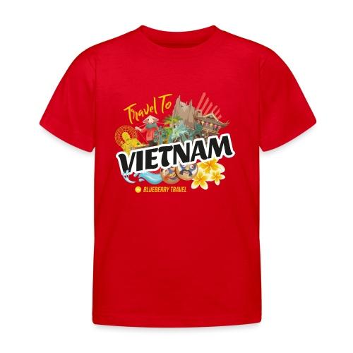 Vietnam by Blueberry Travel - Maglietta per bambini