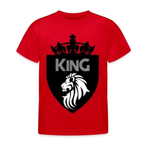 king - T-shirt Enfant