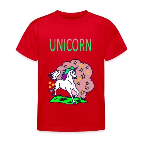 Einhorn unicorn - Kinder T-Shirt