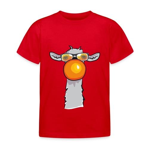 Chewing Llama - Kinder T-Shirt