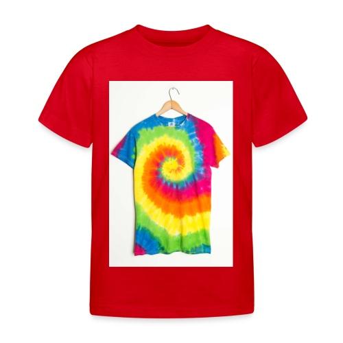 tie die small merch - Kids' T-Shirt