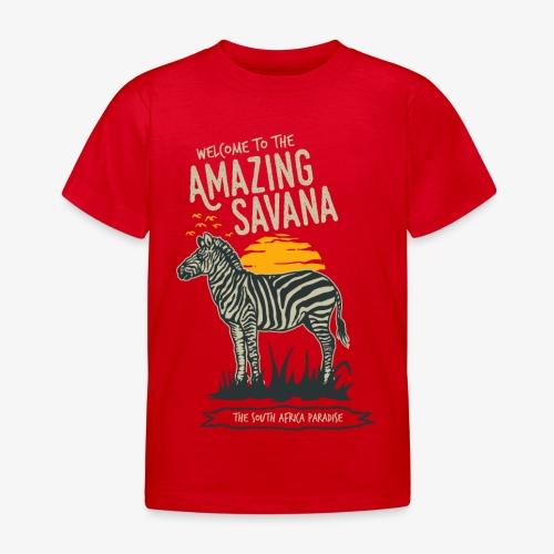 Zèbre - T-shirt Enfant