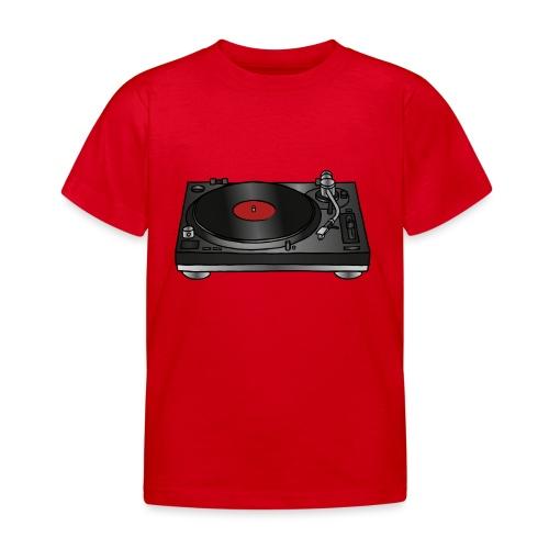Plattenspieler VINYL - Kinder T-Shirt