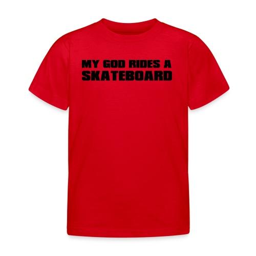 skateboard - T-shirt Enfant