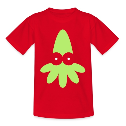 Squid Vector - choose design colours - Kids' T-Shirt