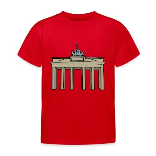 Porta di Brandeburgo a BERLINO c - Maglietta per bambini