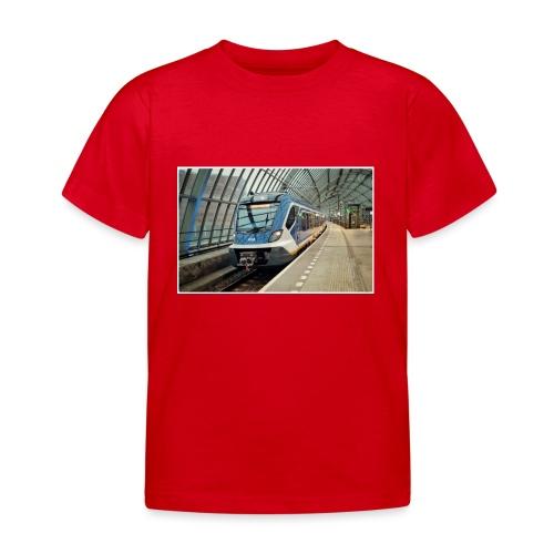 Sprinter in Amsterdam Sloterdijk - Kinderen T-shirt