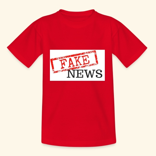 fake news - Kids' T-Shirt