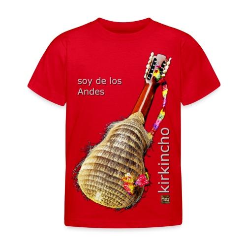 De los Andes - Kirkincho - Kids' T-Shirt