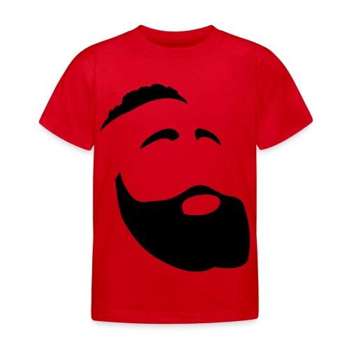 Il Barba, the Beard black - Maglietta per bambini