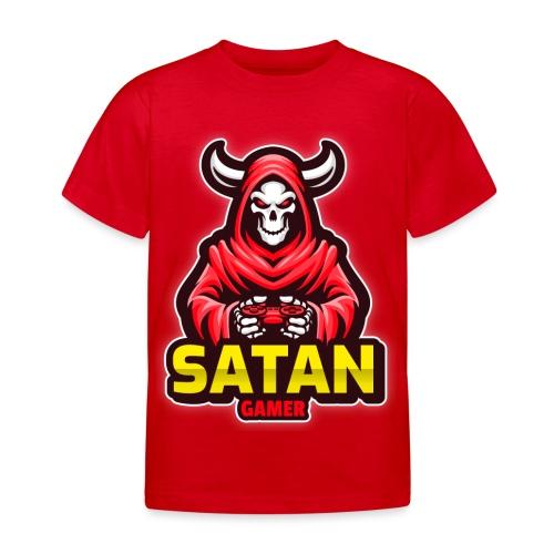 satan gamer - T-shirt Enfant