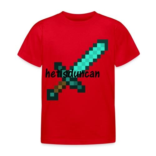 minecraft shirts - Kinderen T-shirt