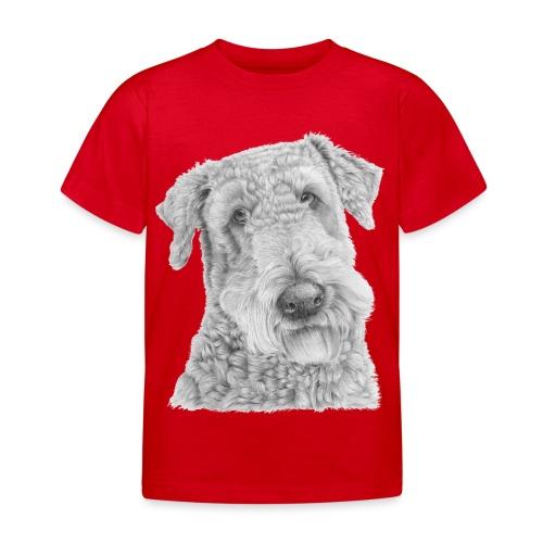 airedale terrier - Børne-T-shirt