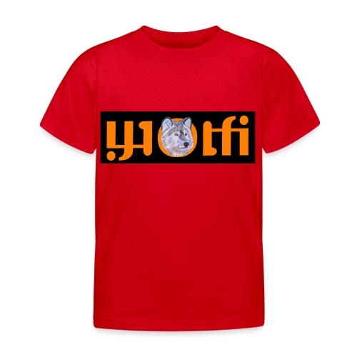 WOLFI4 - Kinder T-Shirt