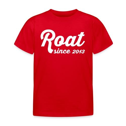 Roat since2013 - Børne-T-shirt